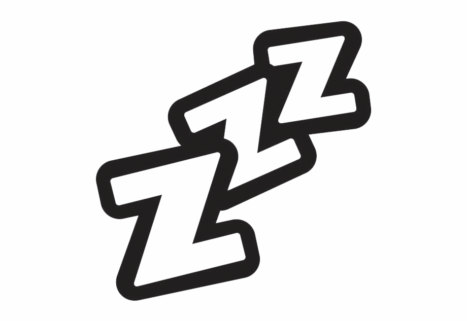 Png Royalty Free Sleeping Z's Clipart.