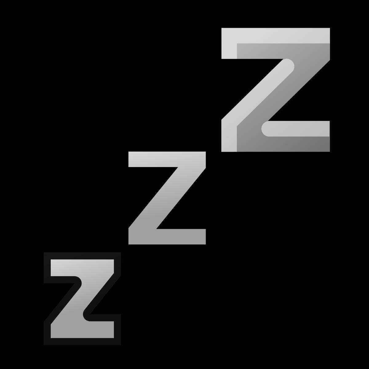 Sleeping clipart zzzz, Sleeping zzzz Transparent FREE for.