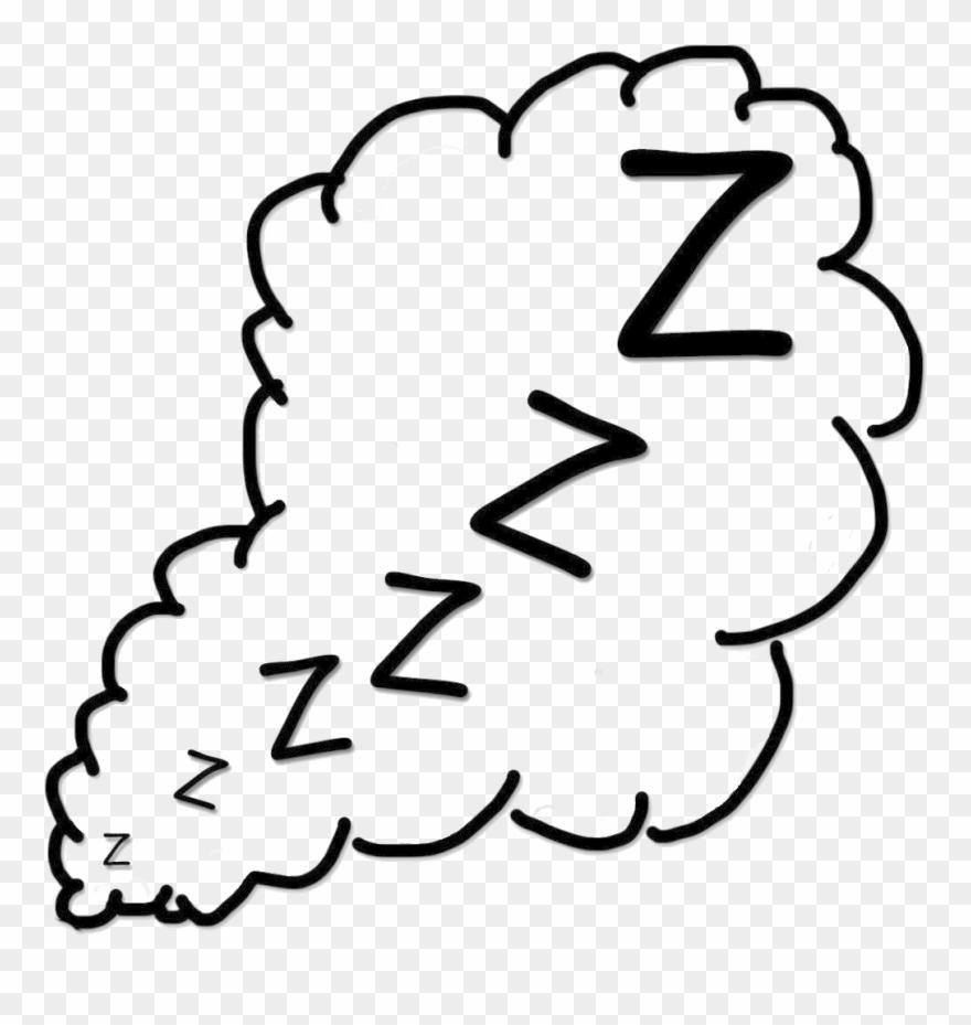 Snoring Png Transparent Image.